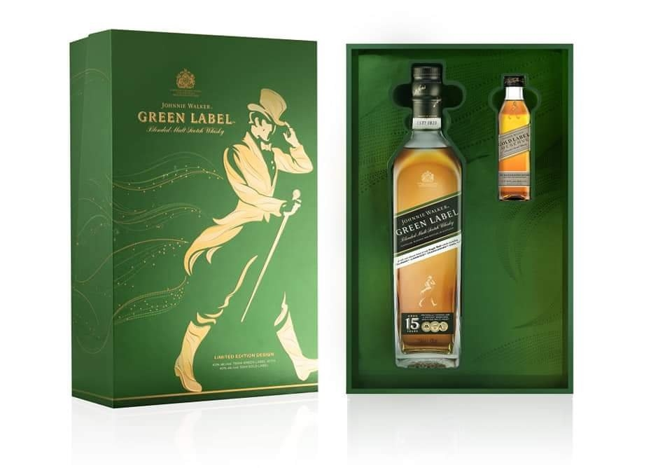 Rượu Johnnie Walker Green Label Hộp Quà 2019 750ml 43